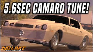 NEW Update Camaro Z28 Tune - 5.6 ¼Mile | No Limit Drag Racing 2.0 [1.2.8]