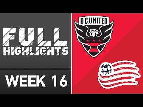 HIGHLIGHTS: D.C. United vs New England Revolution | June 25, 2016
