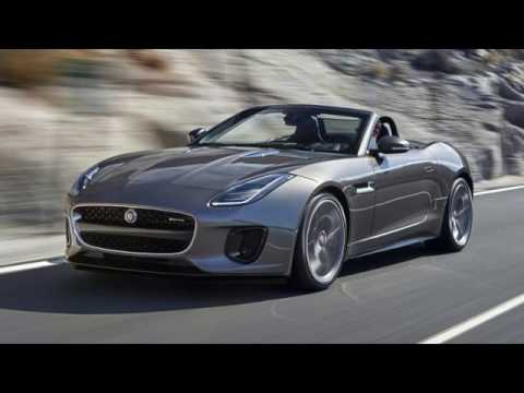 TOPSPEED!!! The Jaguar F refreshes a high performance V6 model 2018
