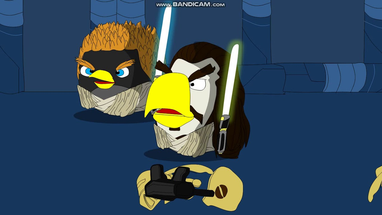 Angry Birds Star Wars Episode I The Phantom Menace Part 1 Negotiations Youtube