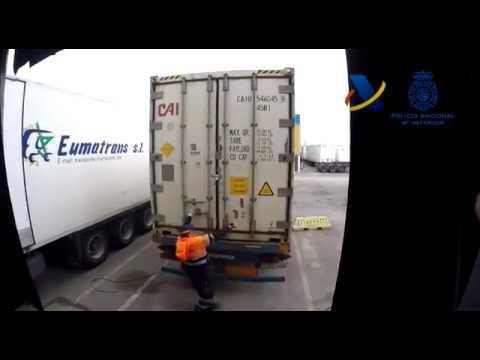 En una operación conjunta de la Policía y la Agencia Tributaria se han decomisado un total de 9 toneladas de cocaína oculta en un contenedor con plátanos