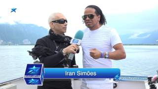 vuclip Brasil Flash TV International - Brasil Boat - River Flash TV - entrevista Iran Simões