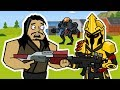 Dusty Depot BRUTES & Ultima Knight | The Squad (Fortnite Animation)