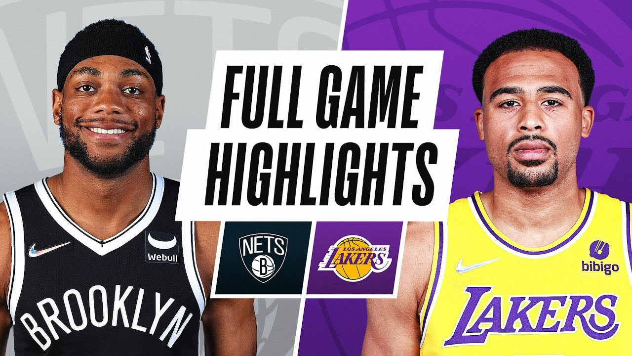 Nets top Lakers in preseason opener, with most key players on ...