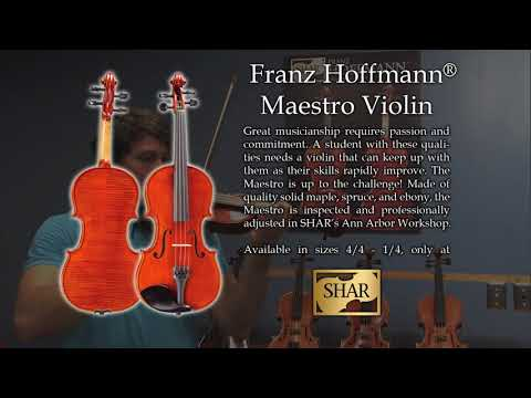Franz Hoffmann® Maestro Violin