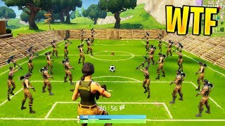 EPIC 100 PLAYERS SOCCER MATCH | Fortnite Best Stream Moments #33 (Battle Royale)
