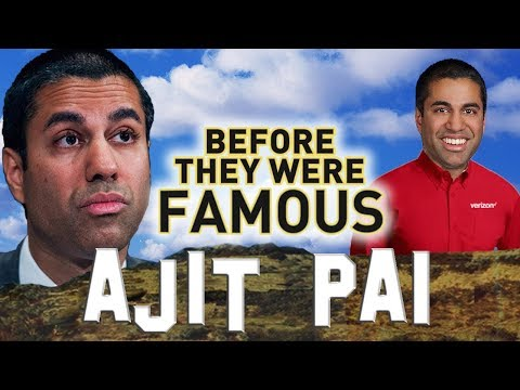AJIT PAI - Before They Were Famous and HATED - Net Neutrality