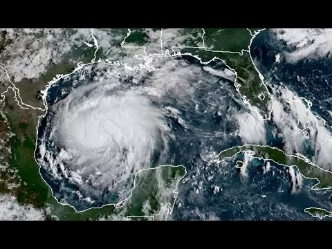 Harvey Strengthens in Gulf of Mexico
