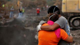 guatemala suspende la busqueda en las faldas del volcan de fuego