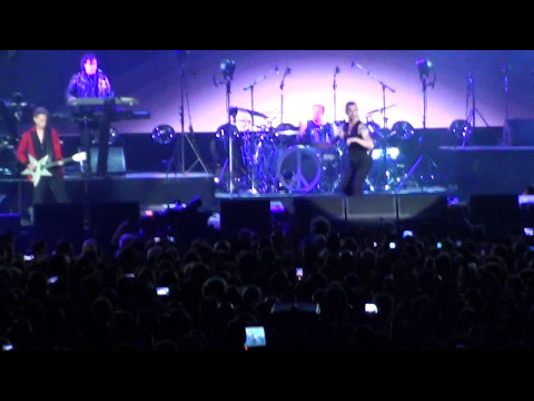 Depeche Mode live in Amsterdam 07-05-2017 Global Spirit Tour-almost full concert in Ziggo Dome