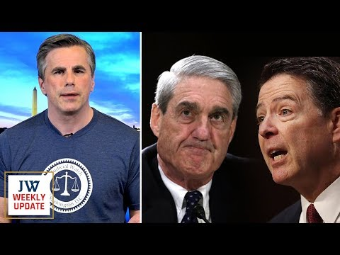 JW Pres. Tom Fitton:  NEW Docs on Comey/Mueller Collusion-DOJ Info on Mueller-Victory...& More!