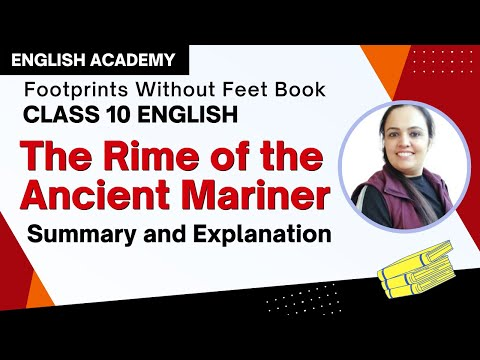 Rime of the Ancient Mariner Summary and Explanation | CBSE Class 10 English Poem