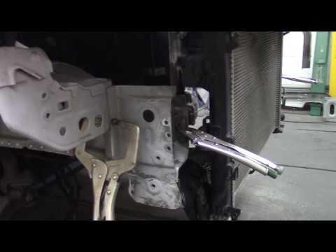 Кузовной ремонт. Ситроен Айркросс #2. Body Repair.