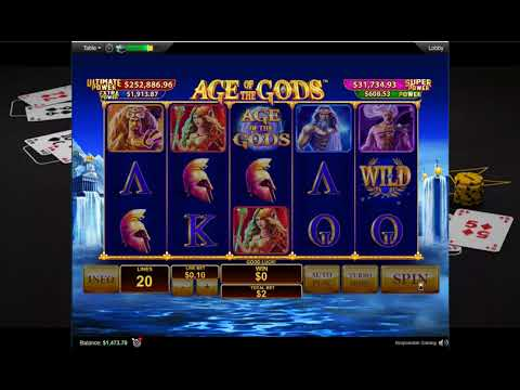 Слот Age Of The Gods на ПокерСтарс! Slot Machine Age Of The Gods On PokerStars