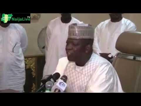 Zamfara Governor BAN Oshiomhole From Entering Zamfara State [WATCH FULL VIDEO]