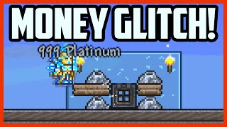 Terraria MONEY GLITCH - SUPER FAST GOLD! Infinite Money Glitch in Terraria 1.3 [Terraria Cheats]