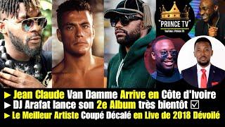 DJ Arafat lance son 2e Album bientôt, Van Damme Arrive en Côte d'Ivoire | Le JOURNAL de PRIINCE TV