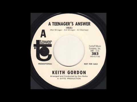Keith Gordon - A Teenager's Answer