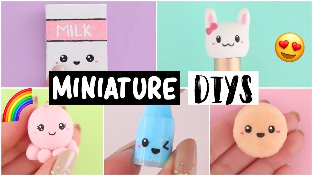 Making 6 amazing miniature diy slimes squishies room for Room decor nim c