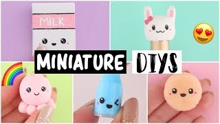 MAKING 6 AMAZING MINIATURE DIY Slimes, Squishies & Room Decor COMPILATION!