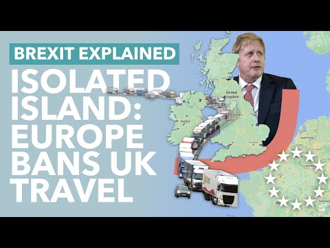 Europe Closes its Borders to Britain: How Brexit & COVID Have Made the UK Isolated - TLDR News