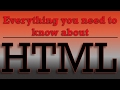 HTML Tutorial for Beginners - Italic,Bold,Emphasis and Strong