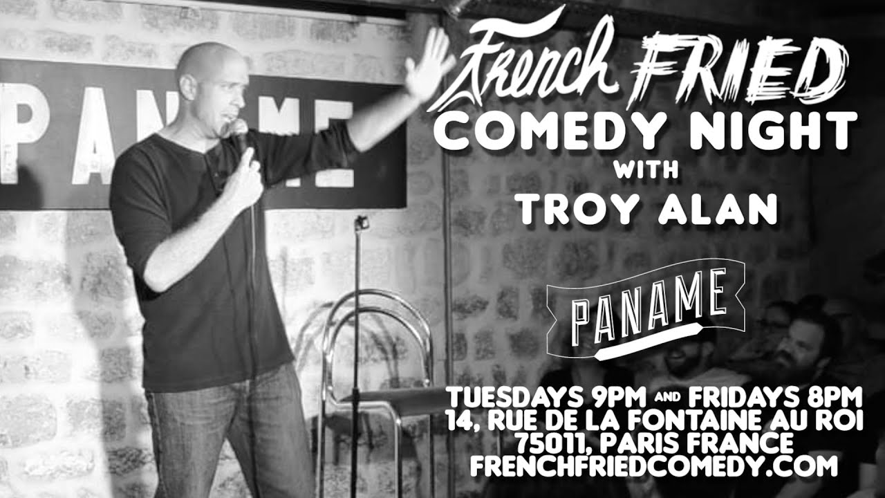 Troy Alan stand-up comedy at French Fried Comedy Night