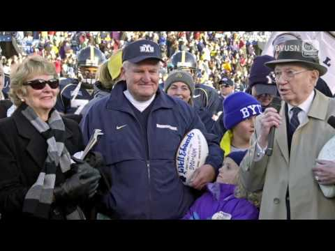 Gone but never forgotten. A tribute to LaVell Edwards