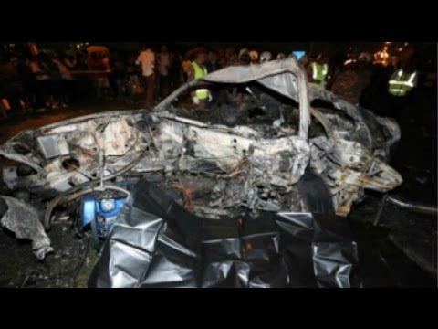 Fiery car crash: 6 foreigners dead in Malaysia highway accident