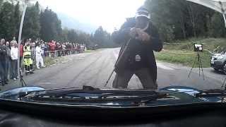 rallye Mont Blanc VHC 2014 ES 1 Les Lindarets en ALPINE A 110