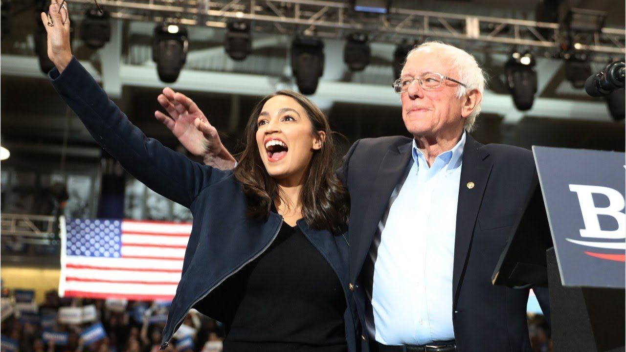 Sanders And AOC Split On 'Medicare For All' - YouTube