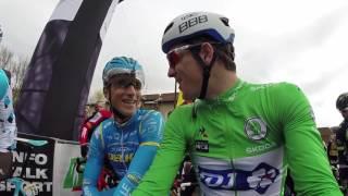 Paris-Nice 2017 - Caméra embarquée sur Arnaud Démare pour le départ de la 5e étape