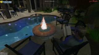 Mirage Custom Pools Shaddock Homes Shaddock Park Allen Texas