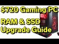 CyberPowerPC - $720 - i5-7400 | Upgrade RAM & SSD | How-To Guide
