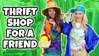 $25 Thrift Store Challenge. Best Friends Buying Each Other Outfits. Totally TV
