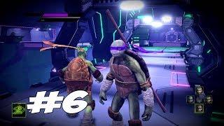 ИДЕМ В СЕКРЕТНУЮ ЛАБОРАТОРИЮ - Teenage Mutant Ninja Turtles: Out of the Shadows - Прохождение #6