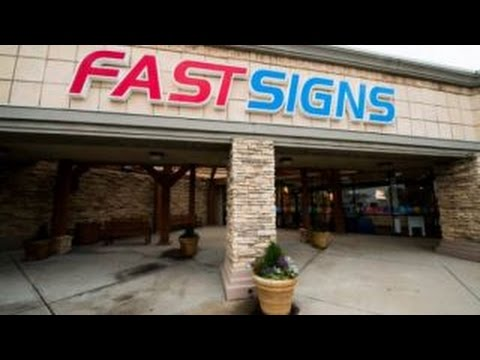 FASTSIGNS creates custom sign and visual graphics