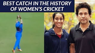 Best catch in the history of women's cricket by Jemimah Rodrigues