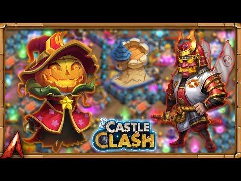 Ronin Smashing Dungeons! Castle Clash