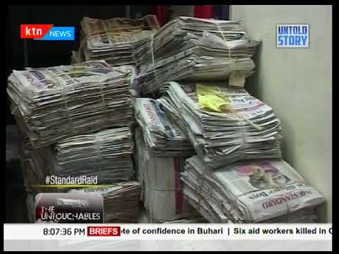 Untold Story:The Standard Group Raid,the day that unknown gunmen attacked Standard Media Group