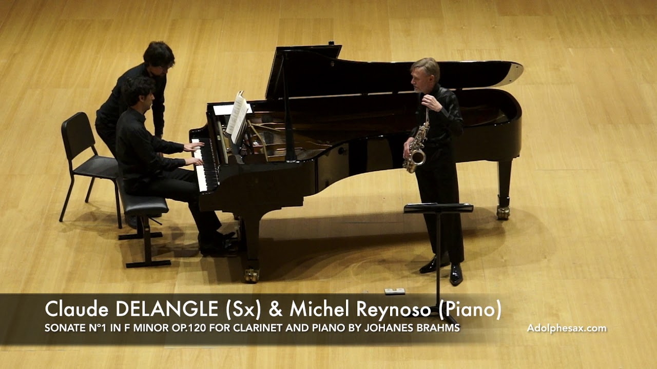 SONATE Nº1 IN F MINOR OP 120 FOR CLARINET AND PIANO BY JOHANES BRAHMS