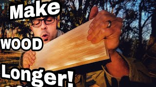How to make HUGE Wood! The Corrugated fastener