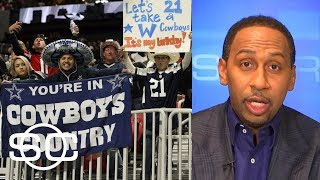 Stephen A. Smith goes on epic rant about Cowboys fans ahead of game vs. Eagles   SportsCenter   ESPN