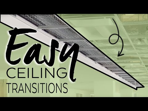 Easy Ceiling Transitions Axiom By Armstrong Ceiling