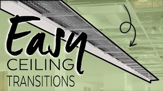 how to Make Ceiling Transitions | Axiom | Armstrong Ceiling Solutions
