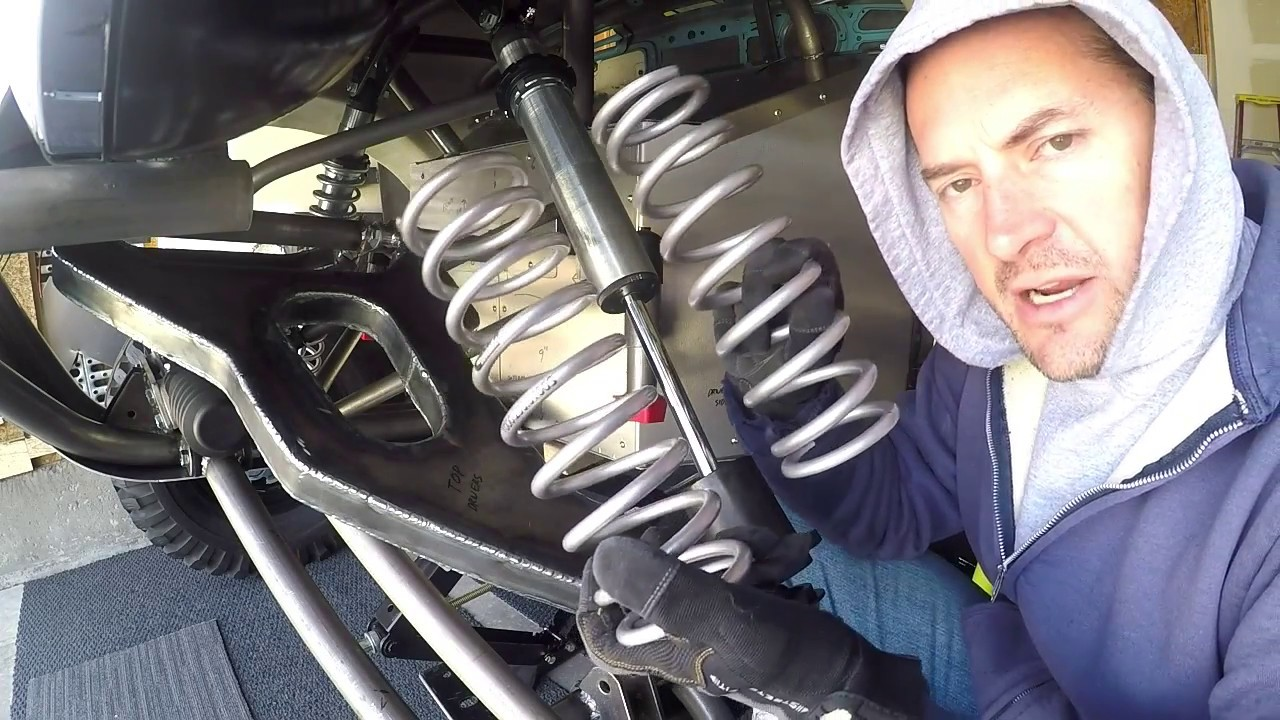Fox Coilover Shock Spring Tuning (Baja Bug)