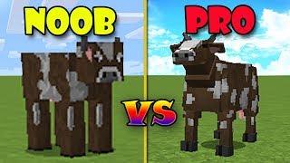 Minecraft NOOB vs PRO : ANIMALES en MINECRAFT