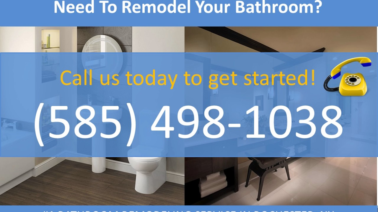 Bathroom Remodeling Rochester NY Bathroom - Bathroom remodel rochester ny