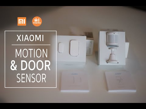 Xiaomi Motion and Door Sensor เซ็นเซอร์ตรวจจับการเคลื่อนไหวและประตูเปิด-ปิด !