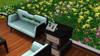 the sims 3 high end loft stuff gameplay